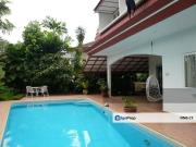 Bungalow with Private Pool. Gated Guarded