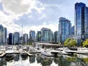 Coal Harbour 2 Bed 2 Bath 1190sf View Condo w Fireplace...