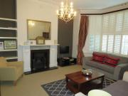 Lovely two bedroom apartment with garden and private parking