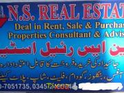 PECHS area s 1000 yard Bungalow For Commercial Rent